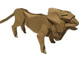 The Origami Lion King