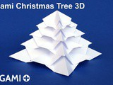 Origami Christmas Tree 3D