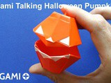 Origami Talking Halloween Pumpkin