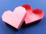 New Easy diy Heart Box Papercraft for Valentine's Day